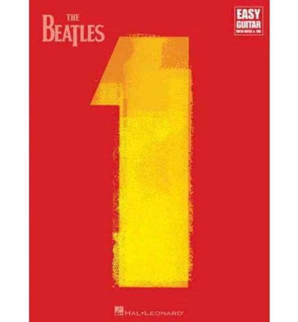 BEATLES 1 EASY GTR BK