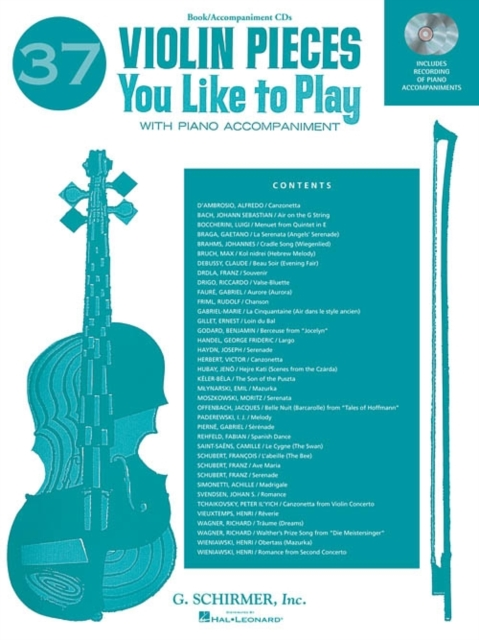 37 Violin Pieces You Like to Play