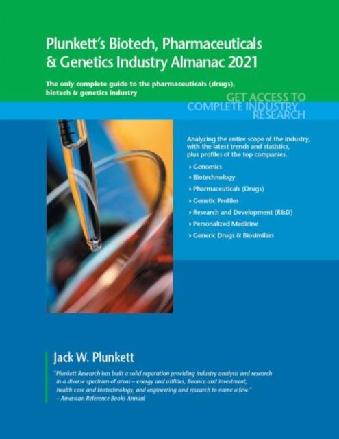 Plunkett's Biotech, Pharmaceuticals & Genetics Industry Almanac 2021