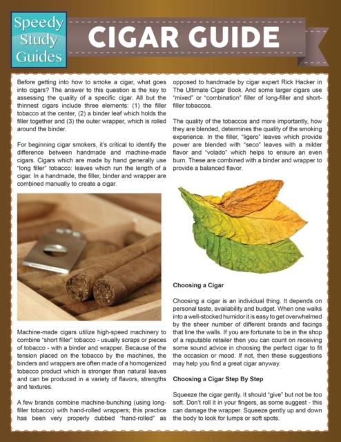 Cigar Guide (Speedy Study Guide)