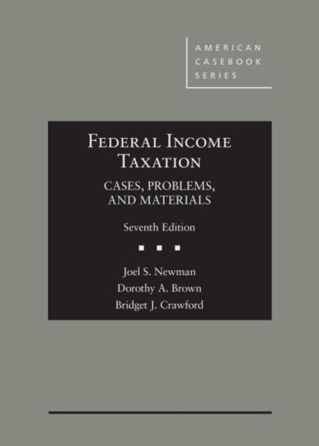 Federal Income Taxation