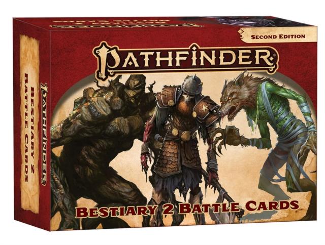 Pathfinder Bestiary 2 Battle Cards (P2)