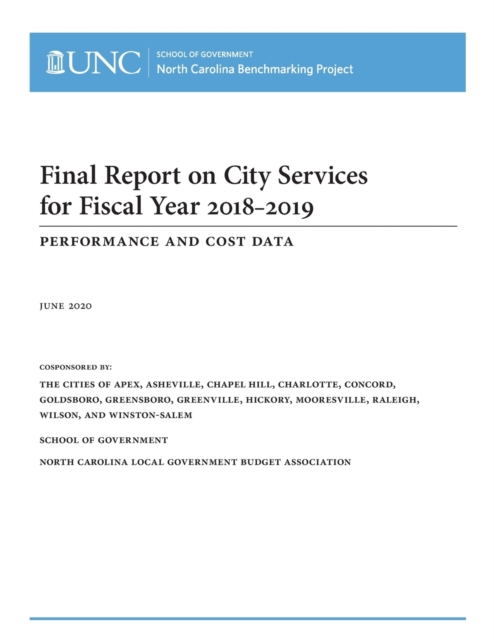 Final Report on City Services for Fiscal Year 2018-2019
