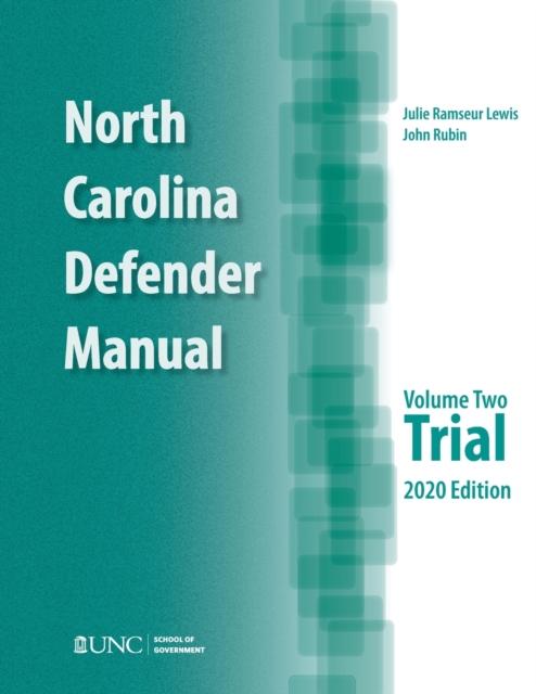 North Carolina Defender Manual