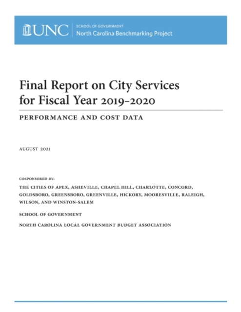 Final Report on City Services for Fiscal Year 2019-2020
