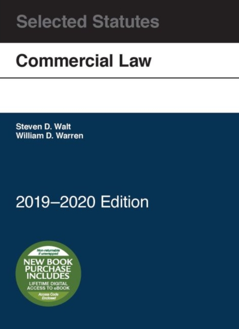 Commercial Law, Selected Statutes, 2019-2020