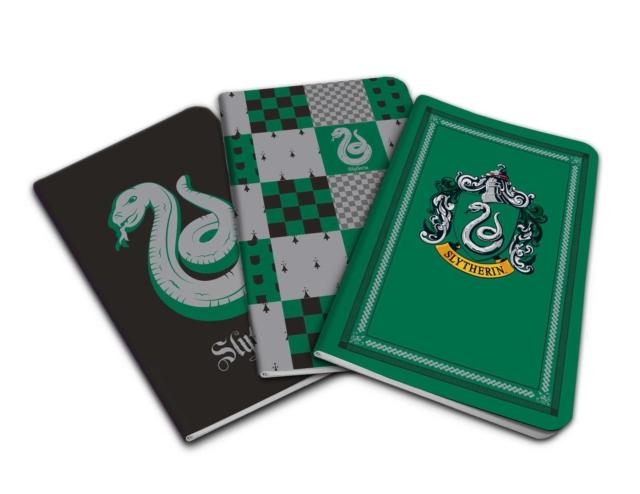 Harry Potter: Slytherin Pocket Notebook Collection