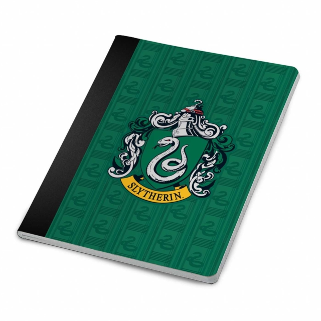 Harry Potter: Slytherin Notebook and Page Clip Set