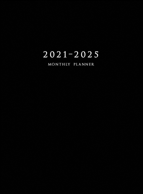 2021-2025 Monthly Planner Hardcover