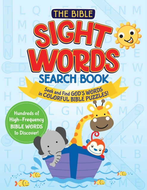 Bible Sight Words Search Book