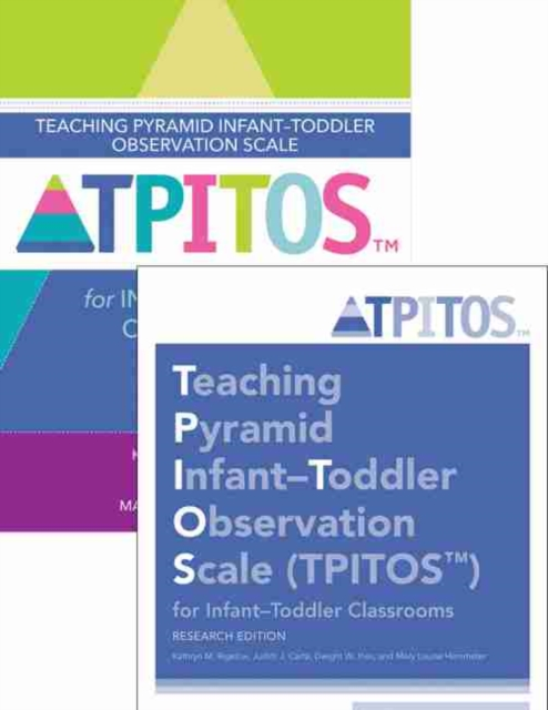 Teaching Pyramid Infant-Toddler Observation Scale (TPITOS (TM)) for Infant-Toddler Classrooms: Set