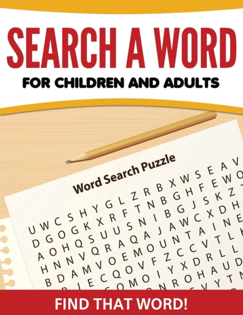 Search A Word For Children and Adults