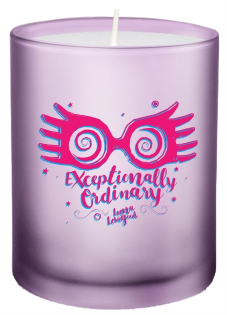 Harry Potter: Exceptionally Ordinary Glass Votive Candle