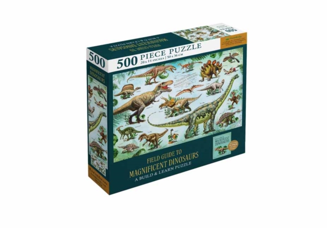 Field Guide to Magnificent Dinosaurs: Jigsaw Puzzles for Kids and Adults