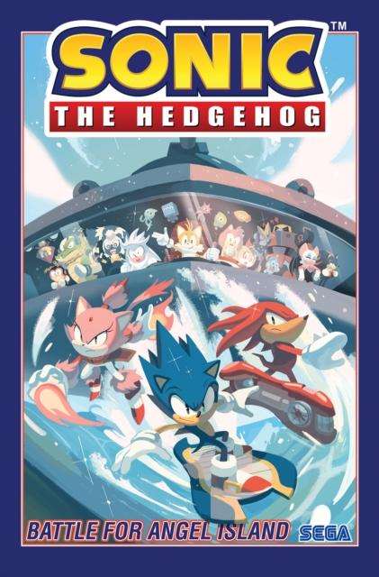 Sonic The Hedgehog, Vol. 3 Battle For Angel Island