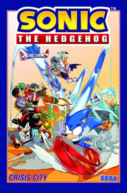 Sonic The Hedgehog, Volume 5: Crisis City