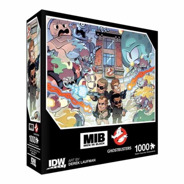 Men In Black/Ghostbusters: Ecto-terrestrial Invasion Premium Puzzle