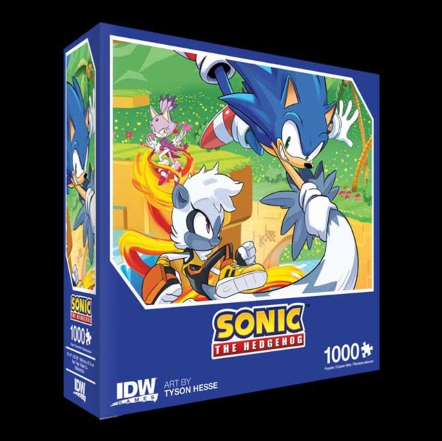 Sonic The Hedgehog: Too Slow! Premium Puzzle