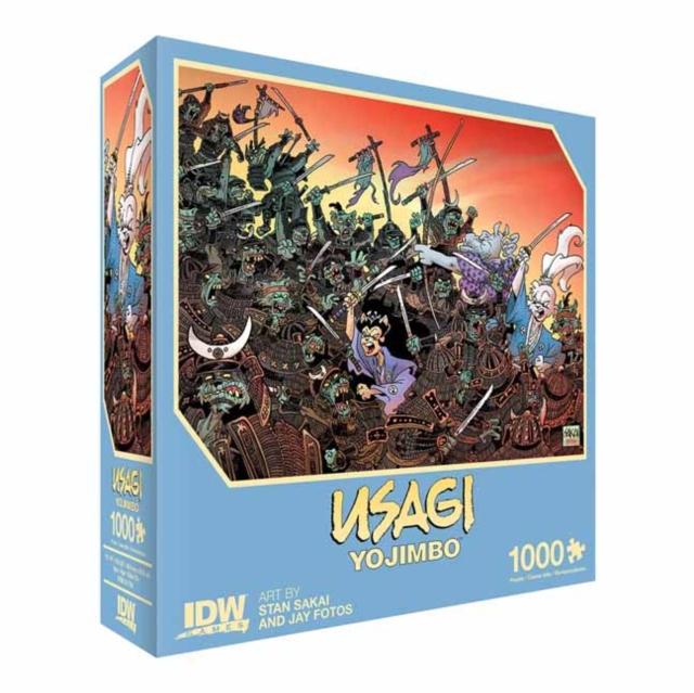 Usagi Yojimbo: Traitors of the Earth Premium Puzzle