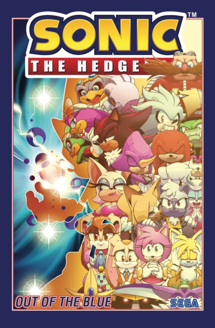 Sonic The Hedgehog, Volume 8: Out of the Blue