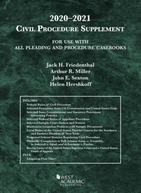 Civil Procedure Supplement, for Use with All Pleading and Procedure Casebooks, 2020-2021