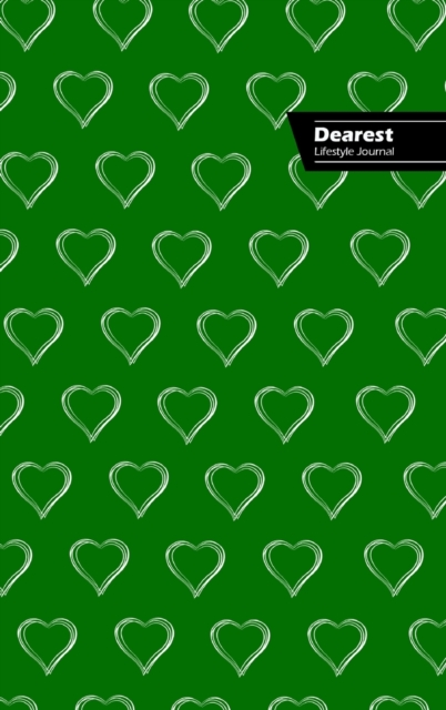 Dearest Lifestyle Journal, Write-in Notebook, Dotted Lines, Wide Ruled, Medium Size 6 x 9 Inch (A5) Hardcover (Green)