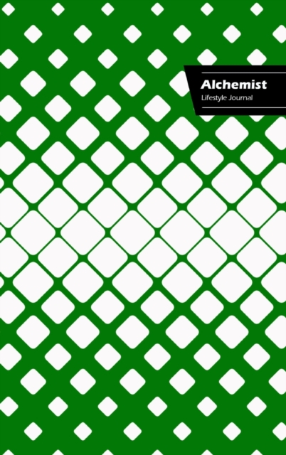 Alchemist Lifestyle Journal, Write-in Notebook, Dotted Lines, Wide Ruled, Size 6 x 9 Inch (A5) Hardcover (Green II)