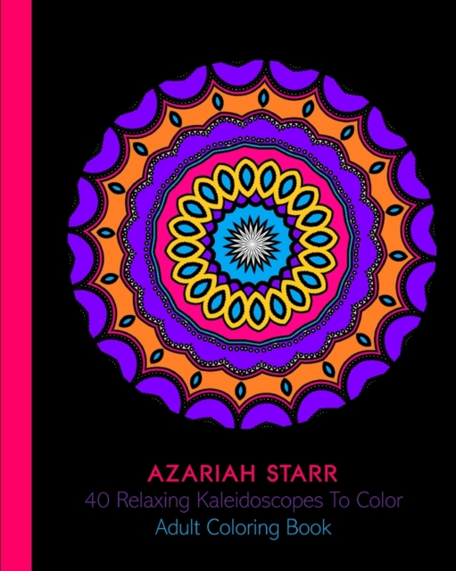 40 Relaxing Kaleidoscopes To Color