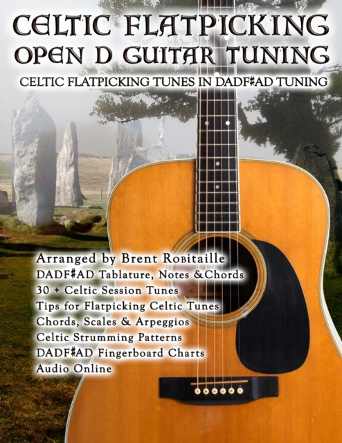 Celtic Flatpicking in Open D Guitar Tuning