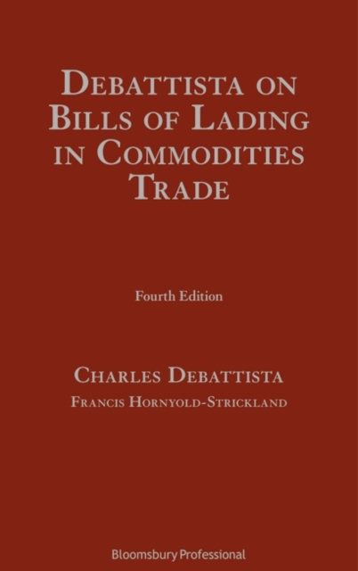 Debattista on Bills of Lading in Commodities Trade