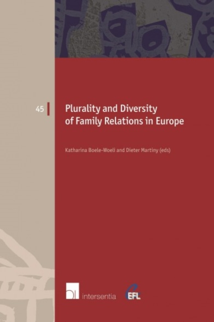 Plurality and Diversity of Family Relations in Europe