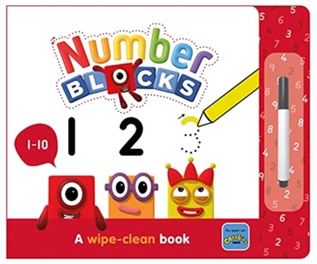 Numberblocks 1-10: A Wipe-Clean Book