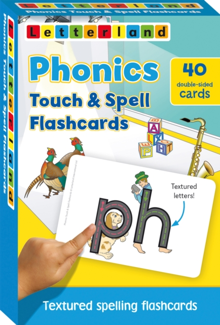 Phonics touch & spell flashcards: Graad R