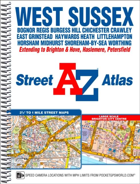 West Sussex A-Z Street Atlas