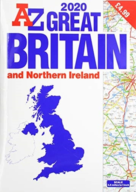 Great Britain Road Atlas 2020 (A3)