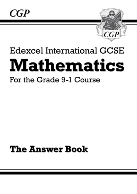 Edexcel International GCSE Maths Answers for Workbook - for the Grade 9-1 Course