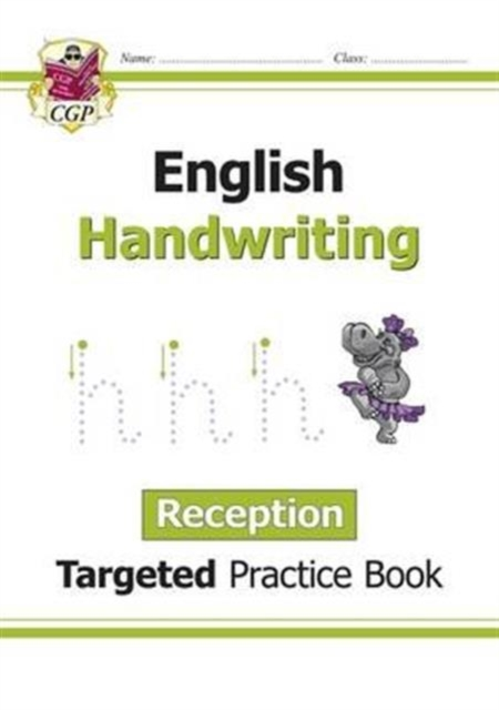 English Targeted Practice Book: Handwriting - Reception