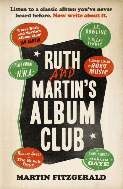 Ruth and Martin's Album Club : Listen to a classic album you've never heard before. Now write about it.