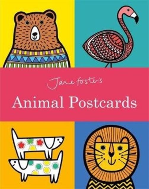 Jane Foster's Animal Postcard Book