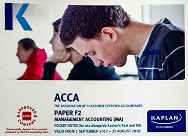 F2 Management Accounting - Pocket Notes