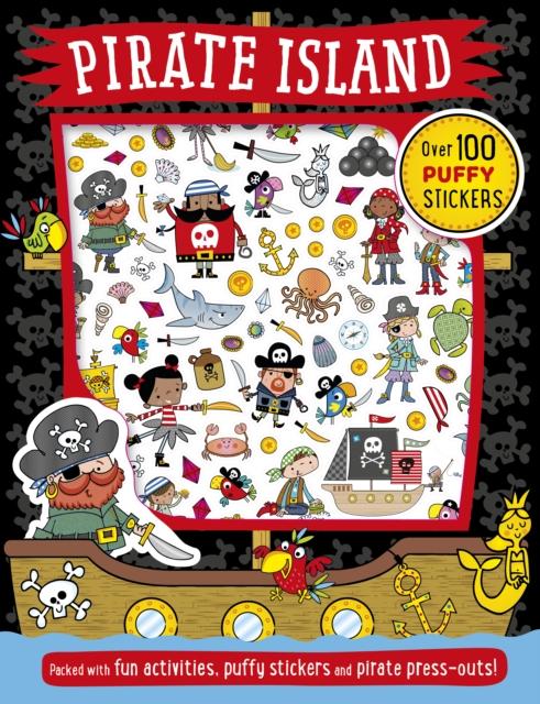 Pirate Island Puffy Sticker Activity
