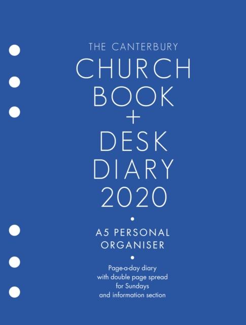 Canterbury Church Book & Desk Diary 2020 A5 Personal Organiser Edition
