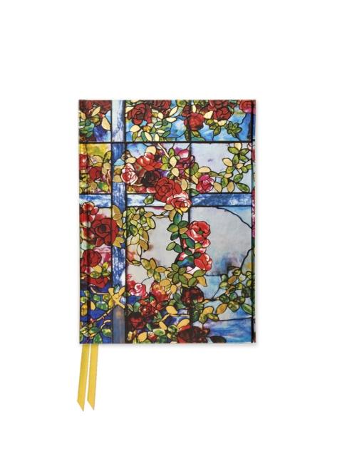 Tiffany: Trellised Rambler Roses (Foiled Pocket Journal)