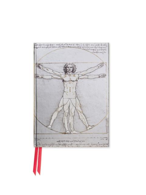 Da Vinci: Vitruvian Man (Foiled Pocket Journal)