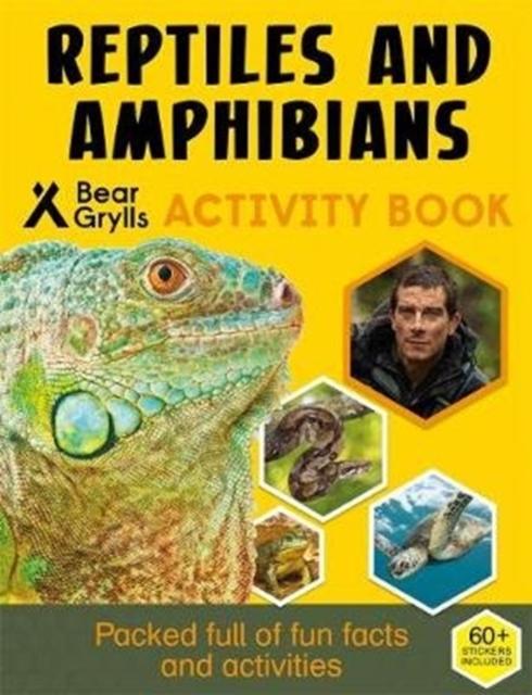 Bear Grylls Sticker Activity: Reptiles & Amphibians