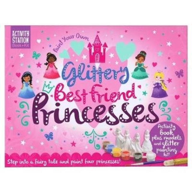 Paint Your Own Glittery Best Friend Princesses