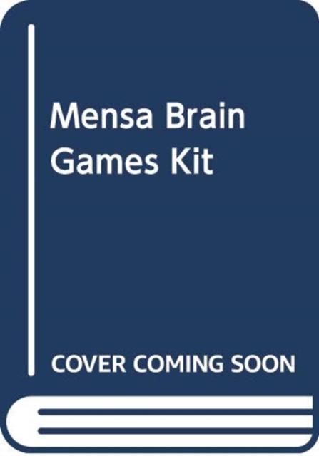 MENSA BRAIN GAMES KIT