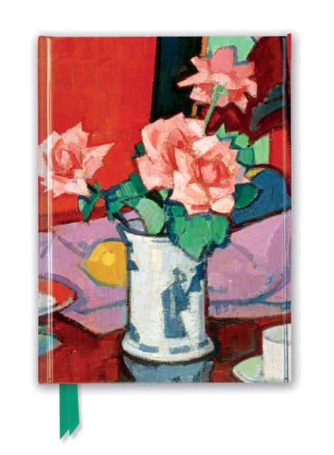 NGS: Samuel Peploe - Pink Roses, Chinese Vase (Foiled Journal)