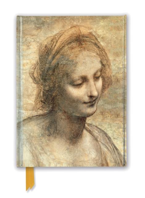Leonardo Da Vinci: Detail of The Head of the Virgin (Foiled Journal)