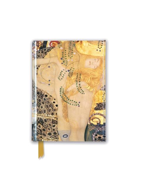 Gustav Klimt: Water Serpents I (Foiled Pocket Journal)
